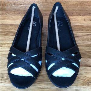 c3a4056a6c923 A2 By Aerosoles Shoes - A2 by Aerosoles Fanatic Open Toe Slip-On